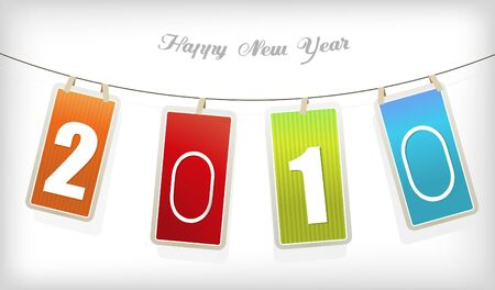 New year cards. Vector Stock Photo - 6191131