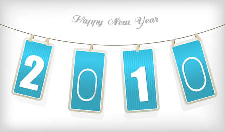 New year cards. Vector Stock Photo - 6191096