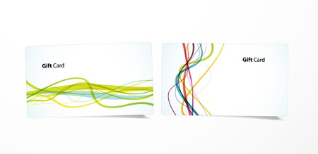 Colored business cards. Stock Vector - 7258428