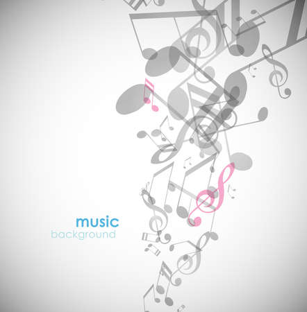 Abstract background with tunes. Stock Vector - 8569698