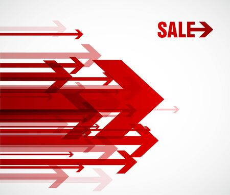 red point: Red sale arrows.