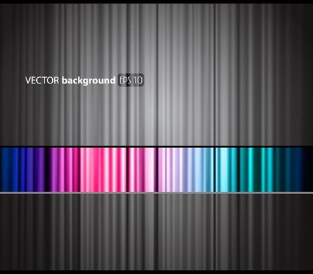 Abstracte kleurrijke achtergrond met plaats voor uw tekst. Vector Illustratie