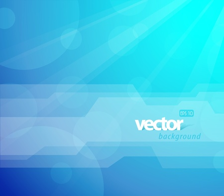 Abstract colorful background with sun and place for your text. Vector