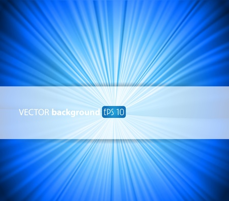 Abstract blue background with place for your text. Stock Vector - 9933686
