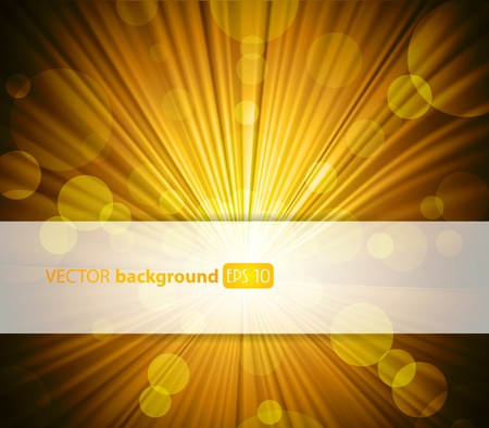 Abstract green background with place for your text.  Vector