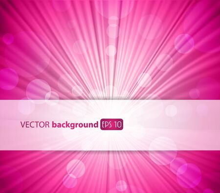 Abstract pink background with place for your text. Stock Vector - 10221720