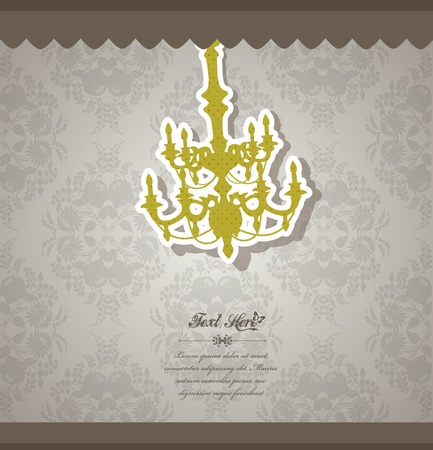 Vintage vector background. Stock Vector - 10587730