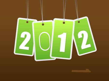 New year card. art Stock Vector - 11254634