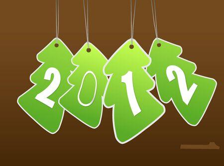 New year card. art Stock Vector - 11254635