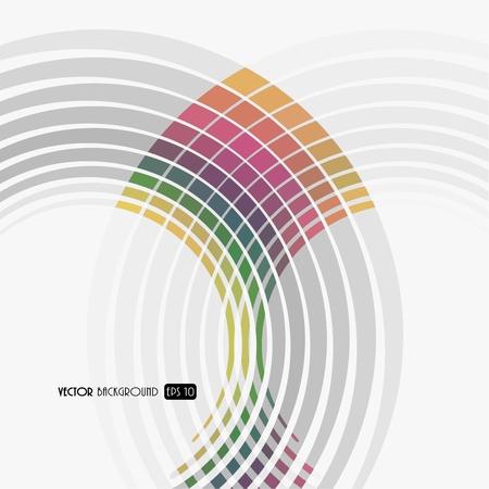 fedő: Absztrakt háttér színes vonalak.