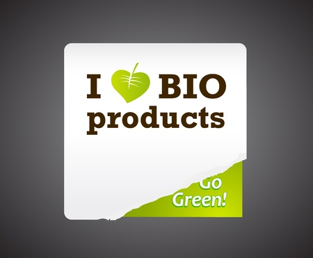 I love bio product illustration. Vector