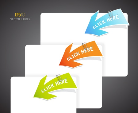 Set of colorful arrows Stock Vector - 12977175