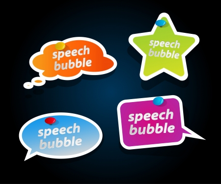 Set of speech bubbles. Stock Vector - 14561863
