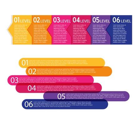 bargaining: Set of colorful labels.