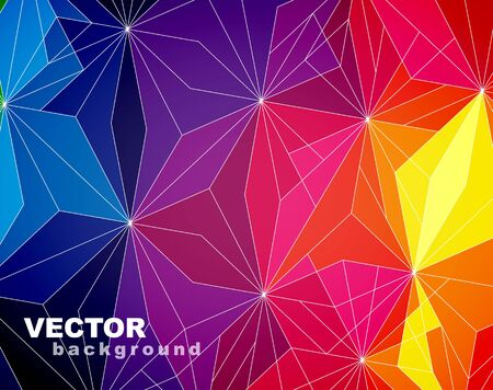 Abstract colorful background. Stock Vector - 15521872