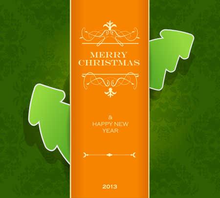 Christmas invitation card.  Stock Vector - 17680161