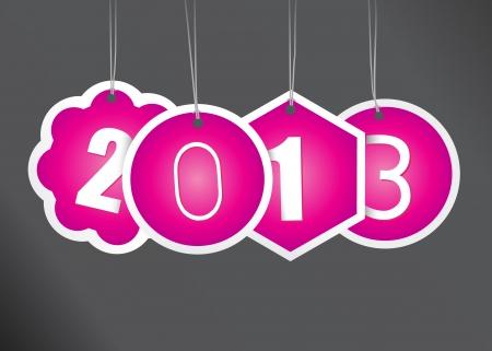 New year card  Stock Vector - 17679948