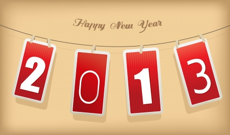 New year cards. Vector Stock Vector - 17679955