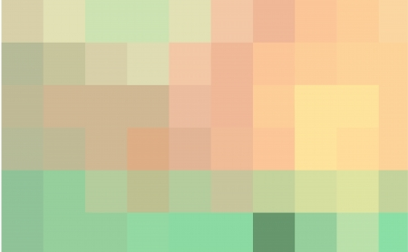 Abstract mosaic vector image with pastel colors. Vector
