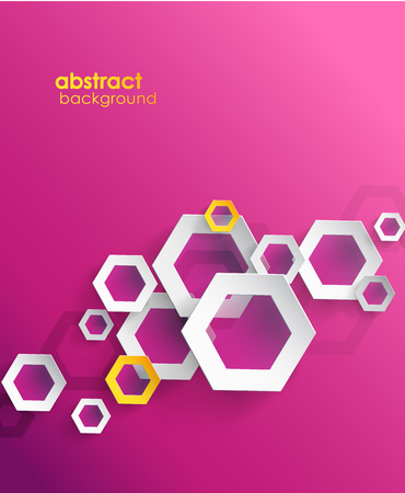 Abstract purple background with place for your text.  Vector