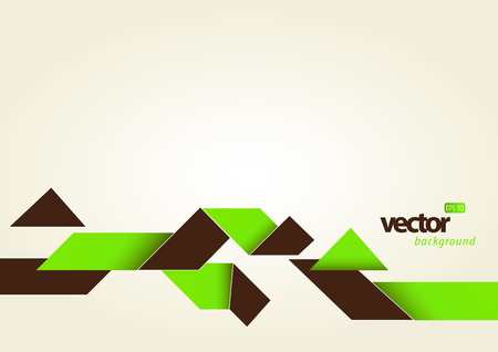 Abstract template with stripes and place for your text. Vector