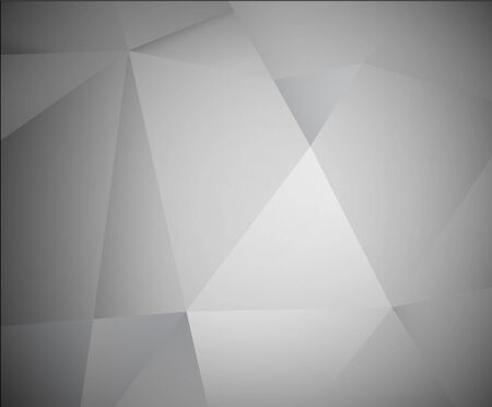 grey abstract background: Abstract 3d grey vector background made from triangles