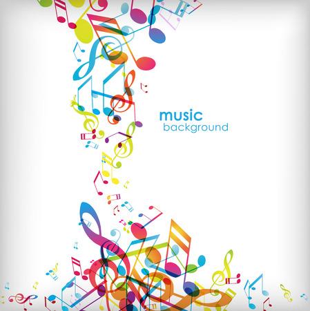 Resumen de fondo con canciones. Foto de archivo - 34371851