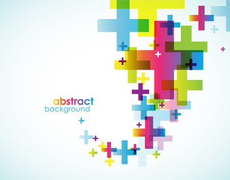 Abstract colored background. Vectores