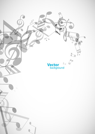 tunes: Abstract backgrounds with grey tunes - vertical version