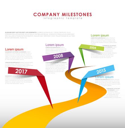 Infographic startup milestones timeline vector template royalty infographic startup milestones timeline vector template stock vector 77455675 maxwellsz