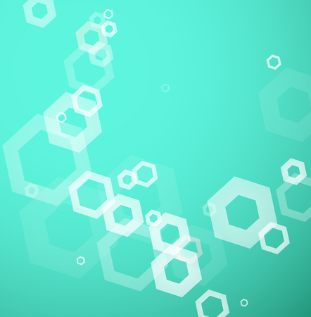 Abstract background created with hexagons.