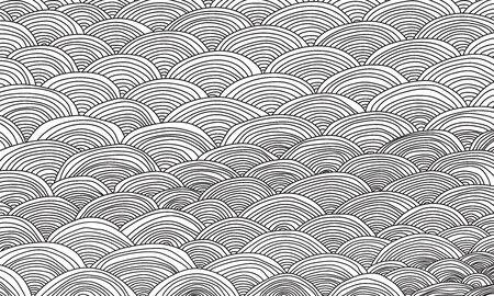 Abstract  of black wave pattern.