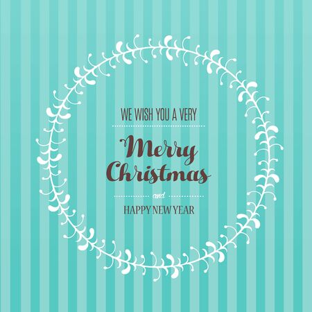 Golden luxury Christmas background with snowflakes and simple text Happy Holidays - Merry Christmas - season's greetings on dark background.