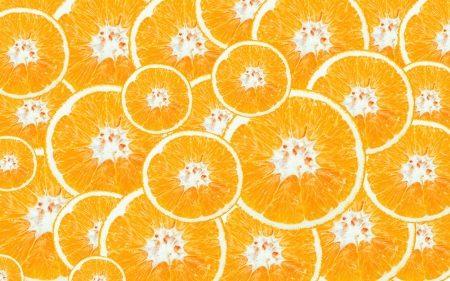 Cross section of oranges for background