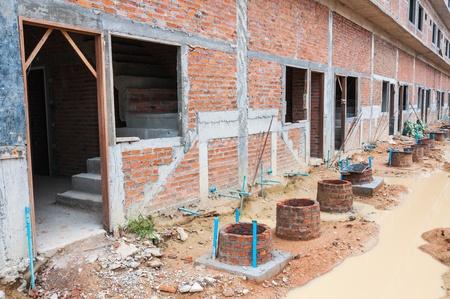 Building construction site photo