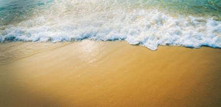 lomo sand beach background Stock Photo