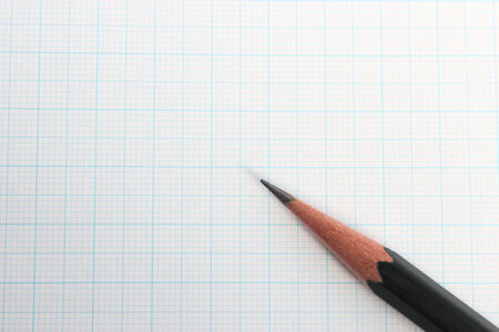 Pencil and graphs photo