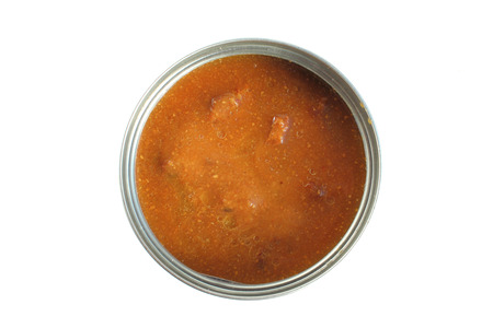canned goods: canned goods Stock Photo