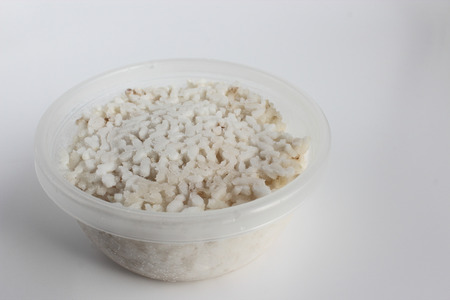 tupperware: frozen rice