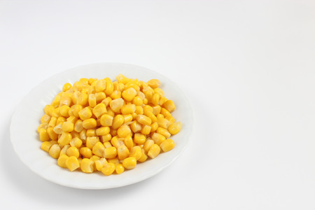 poach: Corn Stock Photo