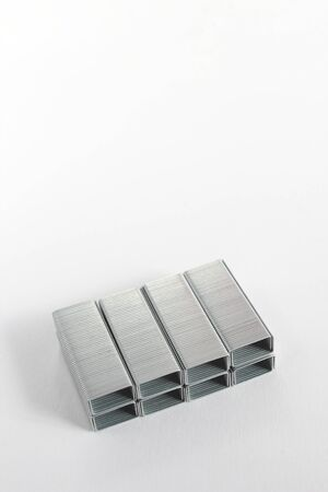 stapler: Núcleo de la grapadora Foto de archivo