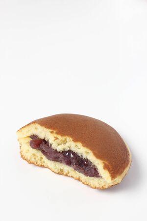half stuff: A bean-jam pancake