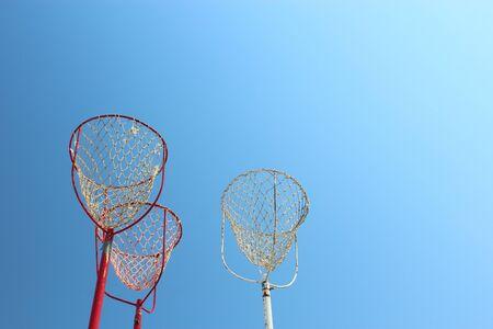 toss: Basket of Beanbag toss