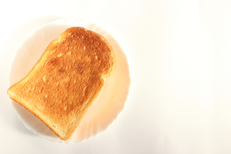 browned: Plain bread