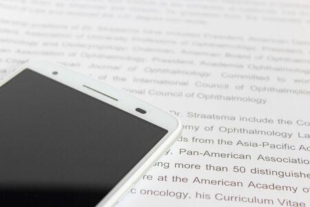 English study and smartphone