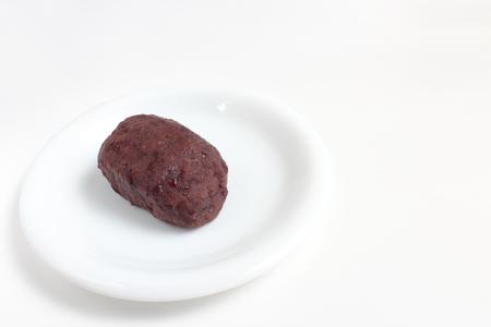 adzuki bean mochi Stock Photo