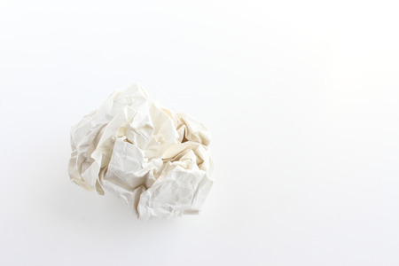 paper wad: paper ball