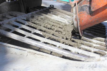 Mixer car concrete