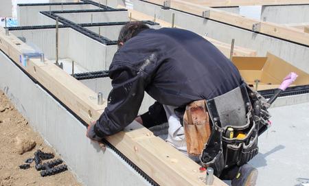 Home foundation work