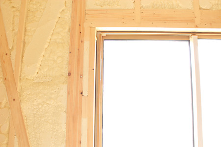Window in new housing construction